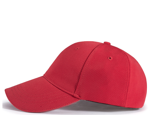 经典大红色高品质六瓣棒球帽(图19)