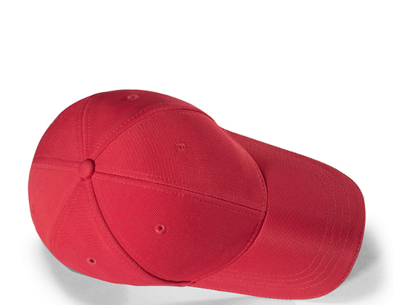 经典大红色高品质六瓣棒球帽(图18)